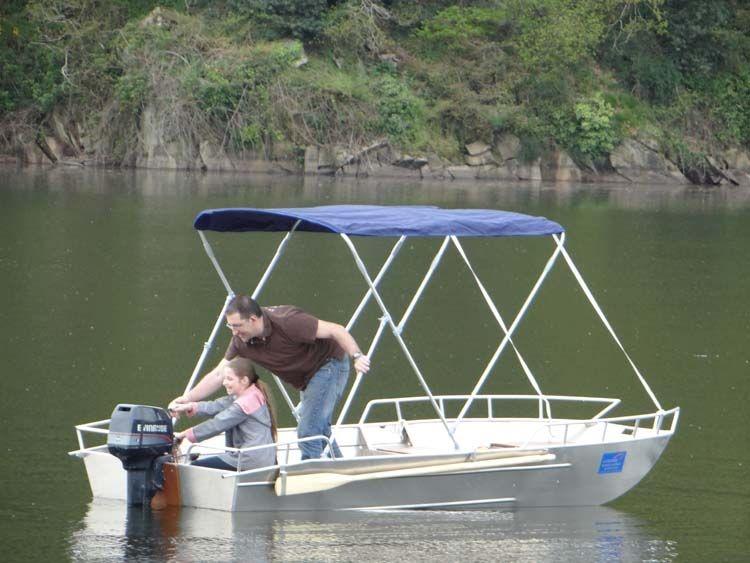Barca da pesca - Barca in alluminio - Accessori per barche (12)