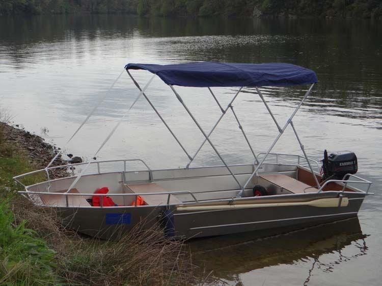 Barca da pesca - Barca in alluminio - Accessori per barche (13)