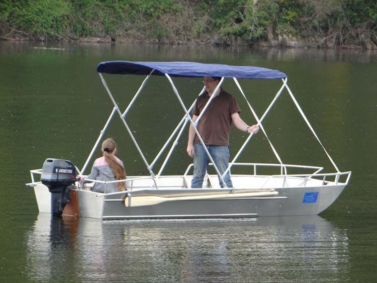 Barca da pesca - Barca in alluminio - Accessori per barche (14)
