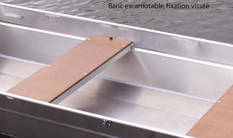 Barchetta in alluminio - panca retrattile (7)