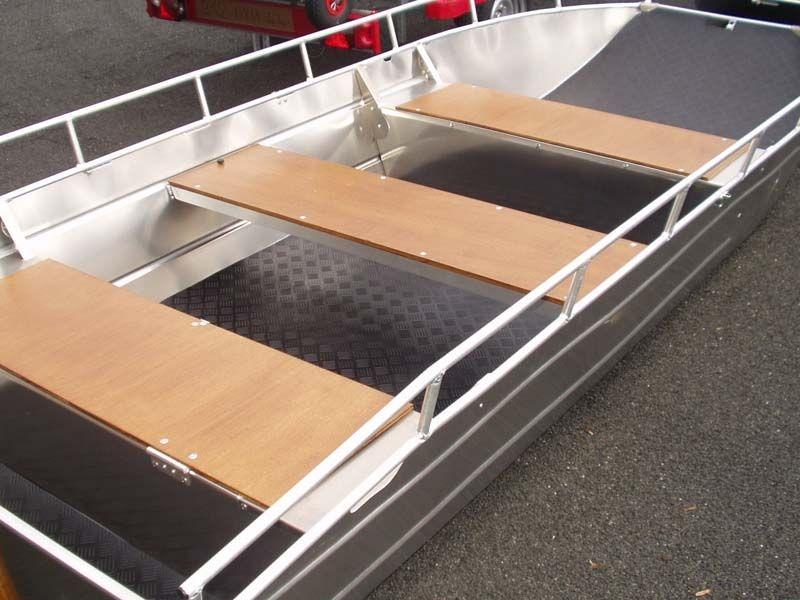 Barchetta in alluminio - panca retrattile (9)