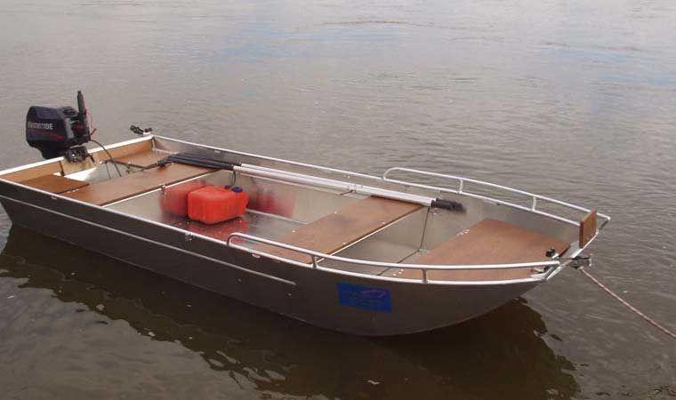 Barca in alluminio - Tronco anteriore (1)