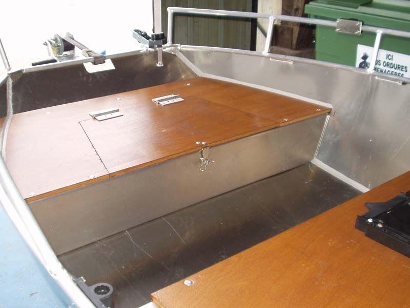 Barca in alluminio - Tronco anteriore (10)