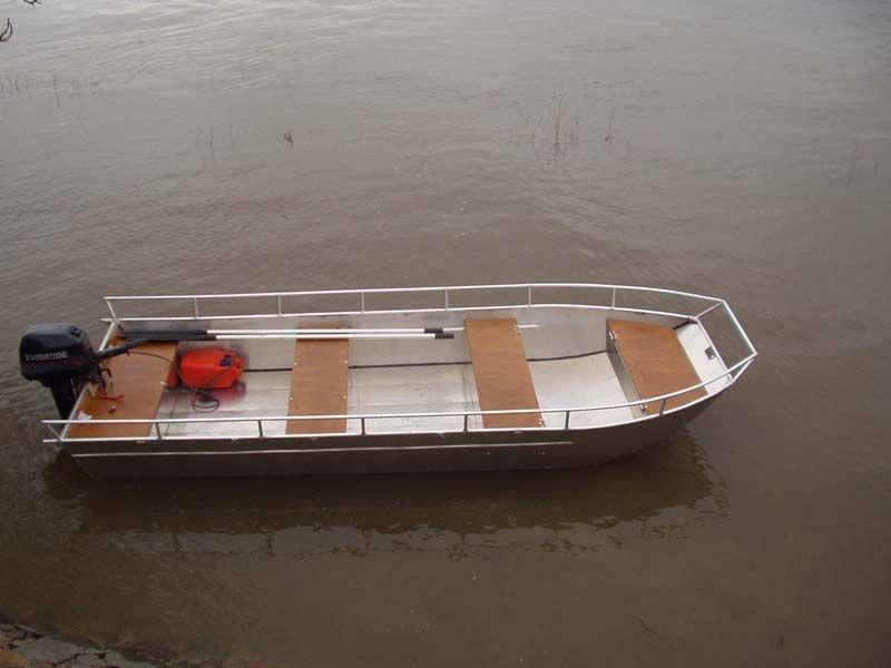 Barca in alluminio - Tronco anteriore (11)