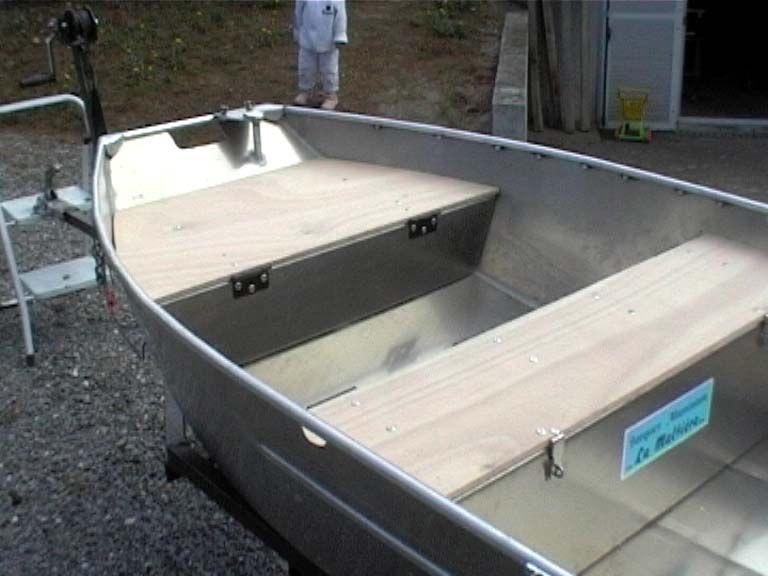 Barca in alluminio - Tronco anteriore (18)