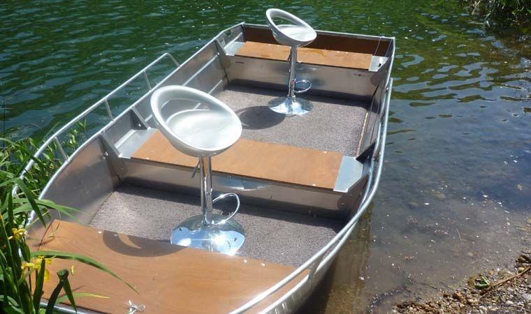 Barca in alluminio - Tronco anteriore (19)
