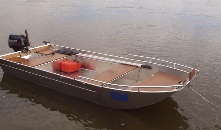 Barca in alluminio - Tronco anteriore (20)