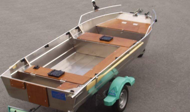 Barca in alluminio - Tronco anteriore (3)