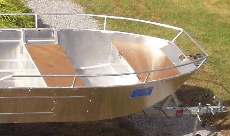 Barca in alluminio - Tronco anteriore (7)