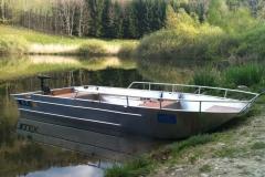 Barca in alluminio - Tronco anteriore (16)