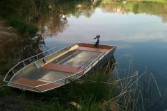 Barca in alluminio - Tronco anteriore (17)