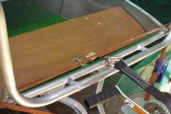 Barca in alluminio - Tronco anteriore (2)