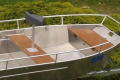 Barca in alluminio - Tronco anteriore (8)