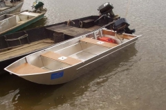 Barca in alluminio - Tronco anteriore (9)
