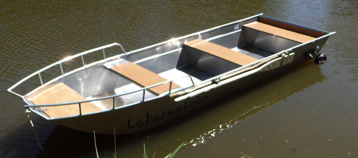 Alluminio-barca