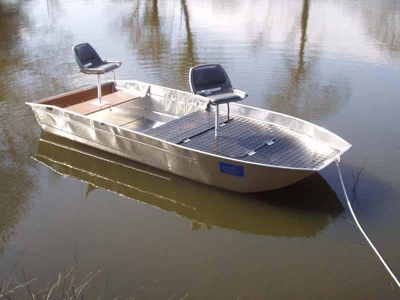 Barca da pesca di alluminio (2)