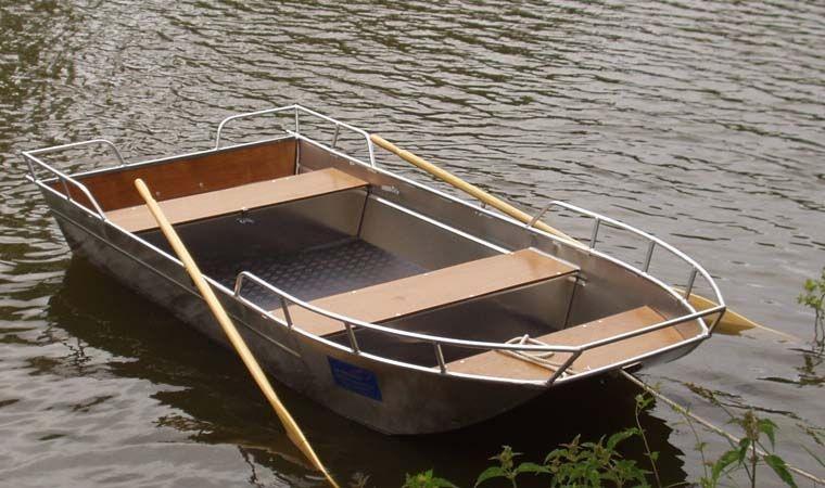 Barca da pesca di alluminio (4)