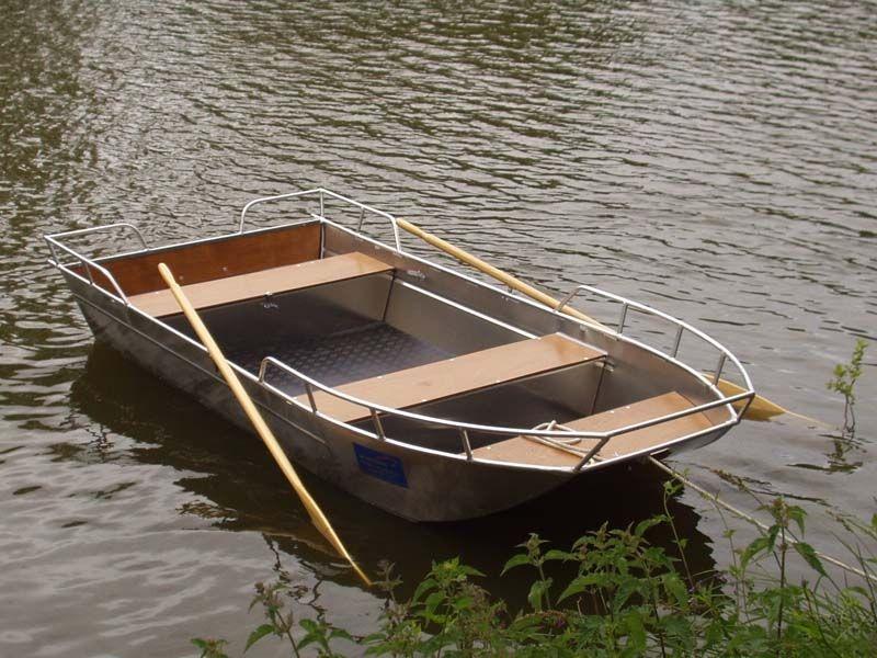 Barca da pesca di alluminio (5)
