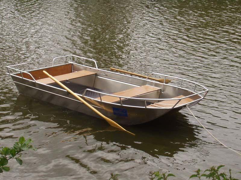 Barca da pesca di alluminio (6)