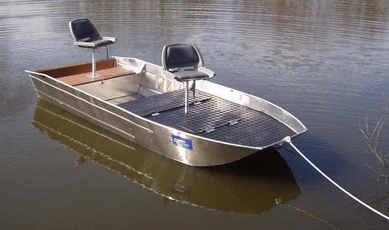 Barca da pesca di alluminio (8)